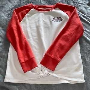 Old Navy Embroidered Crewneck